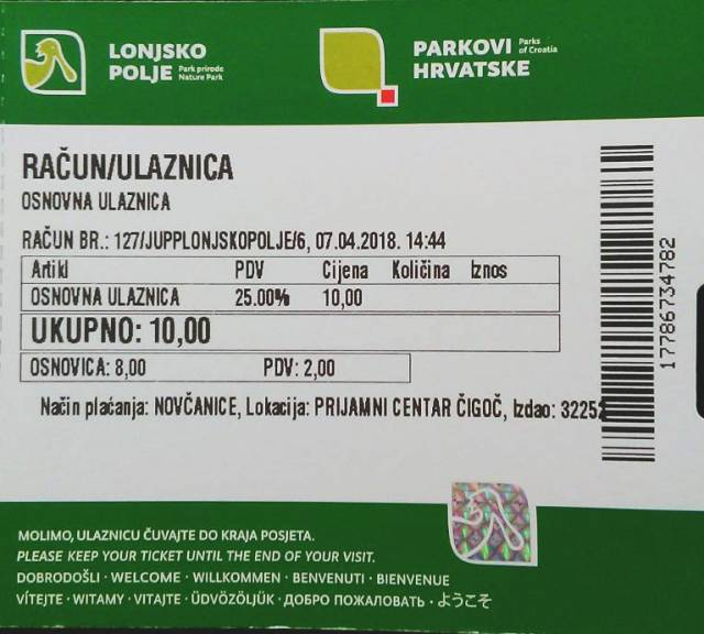 lonjsko polje ticket